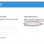 Register کردن دستگاه استوریج EMC