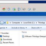 نصب VMware ThinApp 5