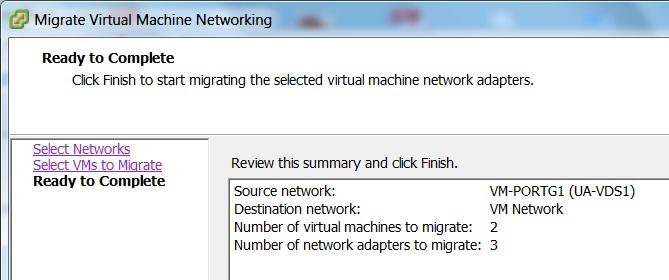 نحوه Migrate کردن ماشین های مجازی از DvSwitch به vSwitch در VMware