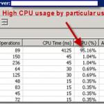 میزان بالای CPU Usage در نرم افزار Exchange User Monitor Tool و تاخیر RPC در Exchange 2007