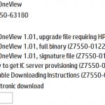 نرم افزار HP OneView بر روی VMware ESXi