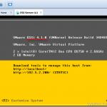 آپدیت VMware ESXi 4.1 به نسخه 5.0