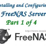 نصب و پیکربندی FreeNAS استوریج NAS