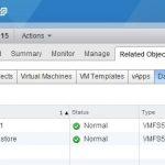پیکربندی NFS DataStore