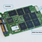 ساختار هارد SSD و اجزای درونی آن