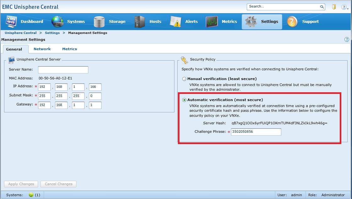 نرم افزار EMC Unisphere Central 4.0.1.22327