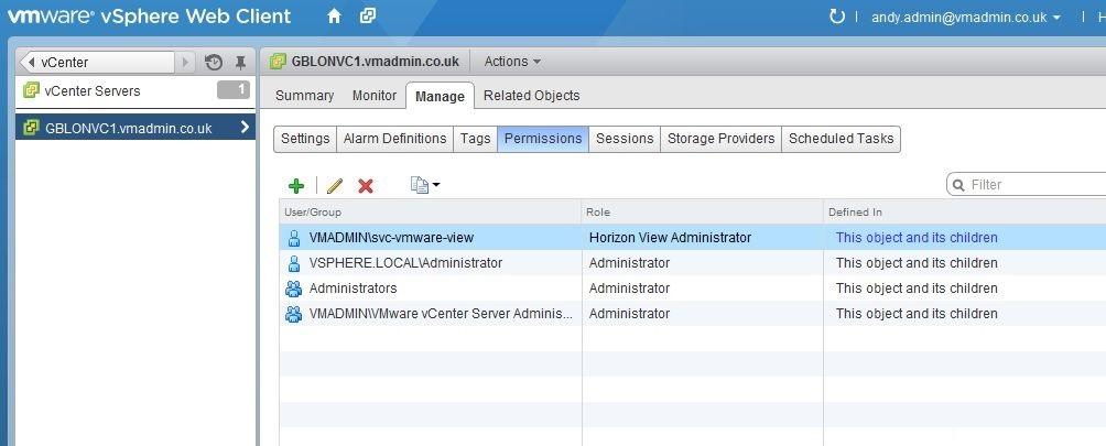 مجازی-سازی-دسکتاپ-با-نرم-افزار-Horizon-View-6.0-پیکربندی-Horizon-View-Administrator-و-دیتابیس-و-تنظیمات-vcenter-و-AD