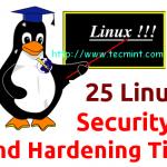 25 نکته برای بالا بردن امنیت سرورهای لینوکس