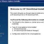 نصب و پیکربندی HP StoreVirtual VSA – بخش اول