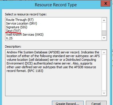 مفهوم SPF DNS Record