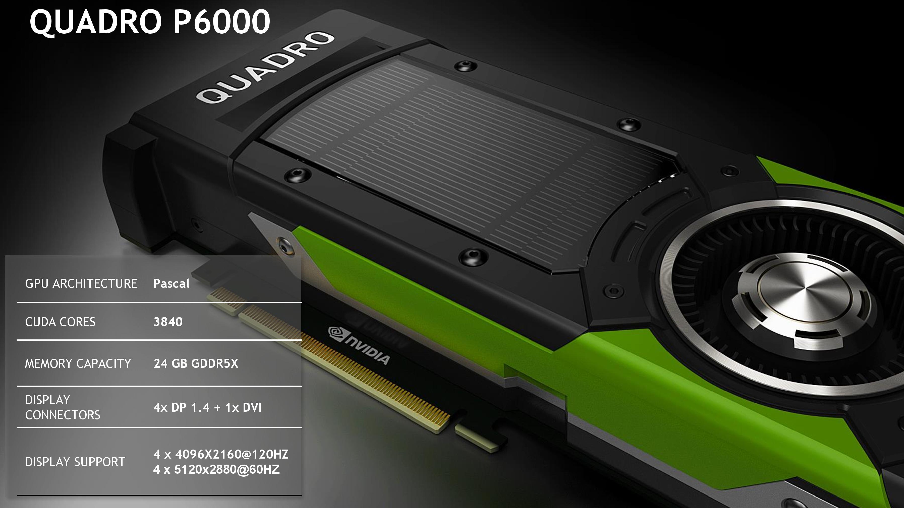 معرفی کارت های گرافیکی PNY QUADRO P5000/P6000