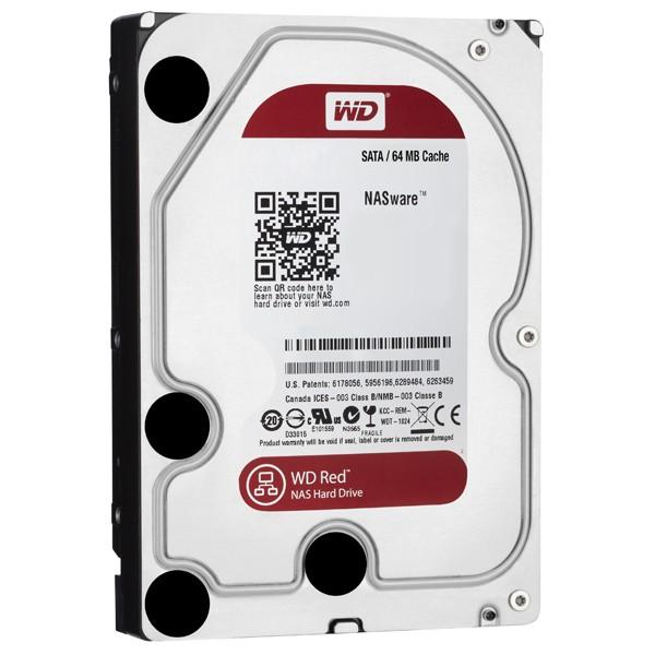 هارد دیسک وسترن دیجیتال 1 ترابایت قرمز 3.5 اینچ