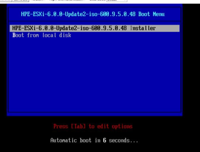 نحوه نصب ESXi 6.0 از طریق BladeSystem Onboard Administrator