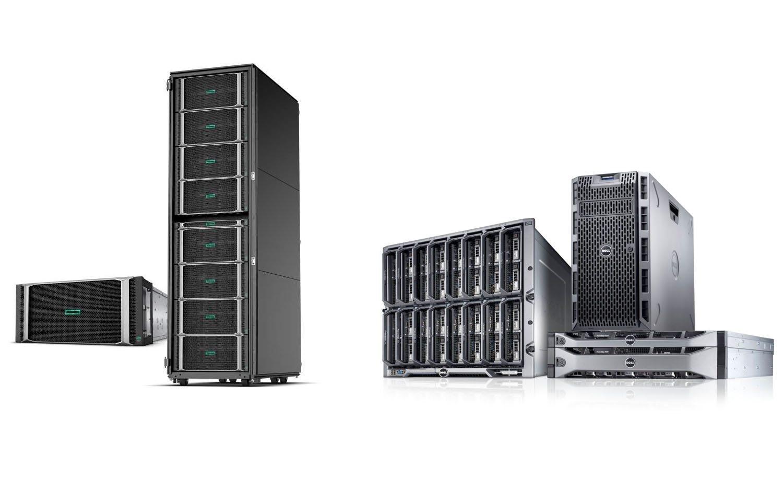 مقایسه سرور های HPE با سرور های Dell