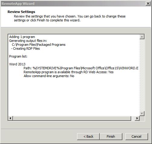 نحوه راه اندازی Remote Application در ویندوز سرور